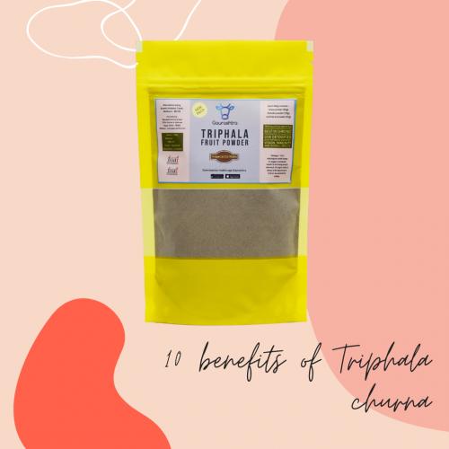 10 Key Benefits Of Triphala Churna