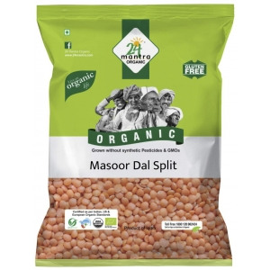 24 Mantra Masoor Dal Split 500 GM