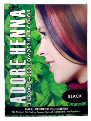Adore Henna Based Herbal Hair Colour Sachet 10 GM