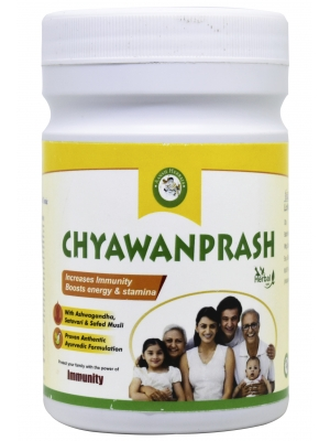 Aansh Herbals Organic Amla Chyawanprash 500 GM