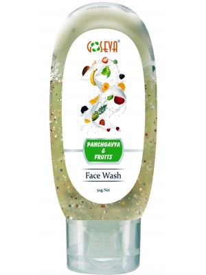 GoSeva Panchagavya Fruits Face Wash 50 ML