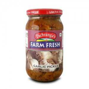 Pachranga Garlic Pickle - लहसुन अचार 400 GM