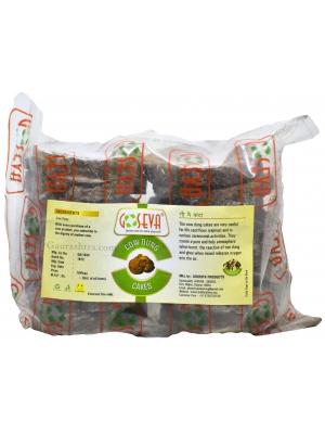GoSeva Kande - 16 Cow Dung Cakes