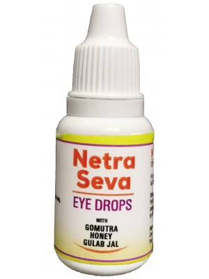 GoSeva Netra Seva Cow Urine Eye Drops 15 GM