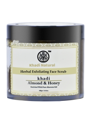 Khadi Almond Honey Face Scrub 100 GM
