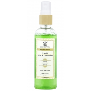 Khadi Mint Cucumber Face Mist 100 ML