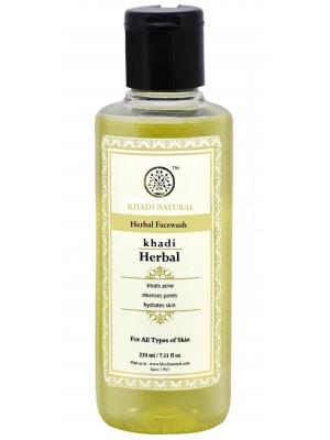 Khadi Natural Herbal Face Wash  210 ML