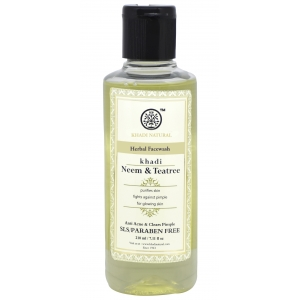 Khadi Neem Tea Tree Face Wash  210 ML