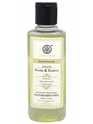Khadi Neem Tea Tree Face Wash  210 ML