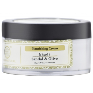 Khadi Sandal Olive Nourishing Cream 50 GM
