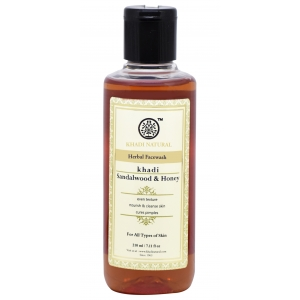 Khadi Sandalwood Honey Face Wash  210 ML