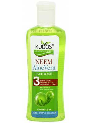 Kudos Neem Aloe Vera Face Wash 120 ML