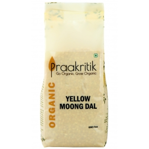Praakritik Yellow Moong Dal 500 GM