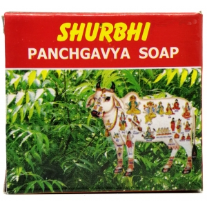 Surbhi Cow Dung Bath Soap 80 GM
