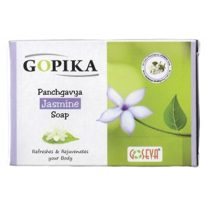 GoSeva Panchagavya Jasmine Soap 75 GM