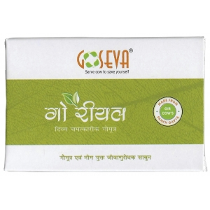 GoSeva Cow Urine & Neem Soap 65 GM