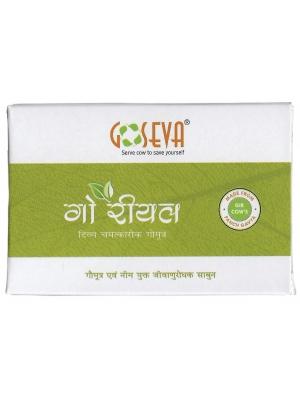 GoSeva Cow Urine & Neem Soap 65 GM
