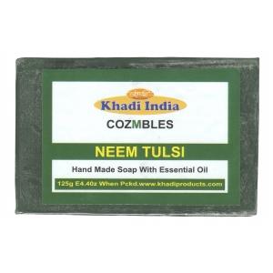 Khadi Neem Soap with Tulsi 125 GM