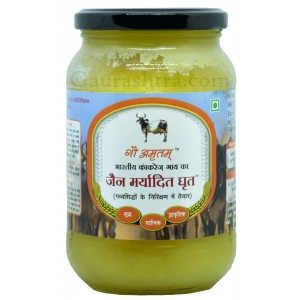Gau Amritam Jain Maryadit Cow Ghee 500 ML