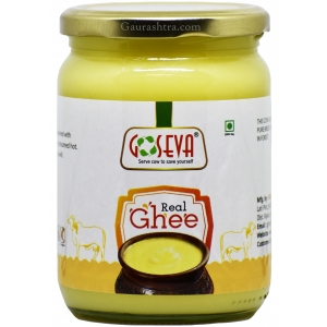 GoSeva Gir Cow Hand Churned Ghee 500 ML