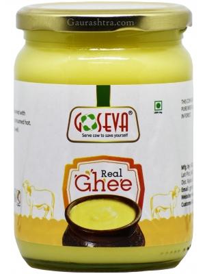 GoSeva Gir Cow Hand Churned Ghee 500 ML
