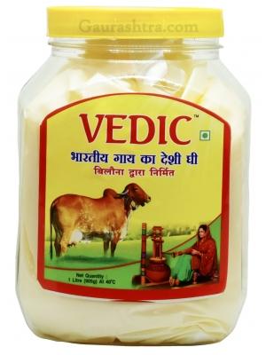 Vedic Desi Cow A2 Ghee 1 Litre