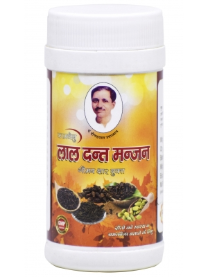 Kamdhenu Lal Dant Manjan with Gomay 50 GM
