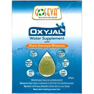 GoSeva OxyJal Water Supplement Vibhuti 200 GM
